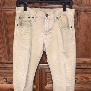 Men's American Eagle khaki color jeans 28x30